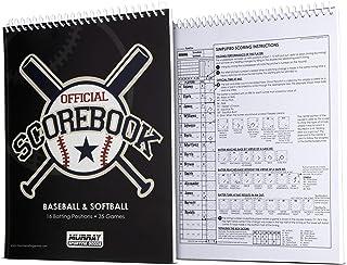 کتاب امتیازات بیس بال / سافت بال کالاهای ورزشی موری - 35 بازی - 16 بازیکن