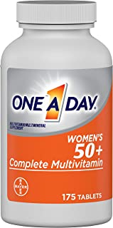 One A Day Women's 50+ Multivitamins, Supplement with Vitamin A, Vitamin C, Vitamin D, Vitamin E and Zinc for Immune Health...