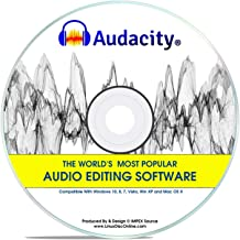 Best Audacity® 2020 Newest Professional Pro Audio Music Editing Recording Software Win 10,8,7,*Vista* And XP Mac OS X Linux Review