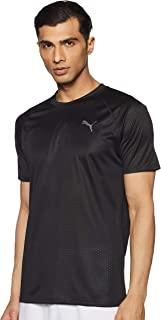 PUMA Mens Small Sleeve Tech T-shirt T-Shirt
