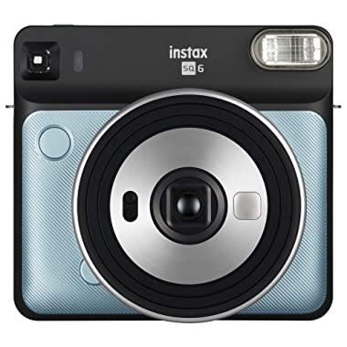 Fujifilm Instax Square SQ6 - Instant Film Camera - Aqua Blue