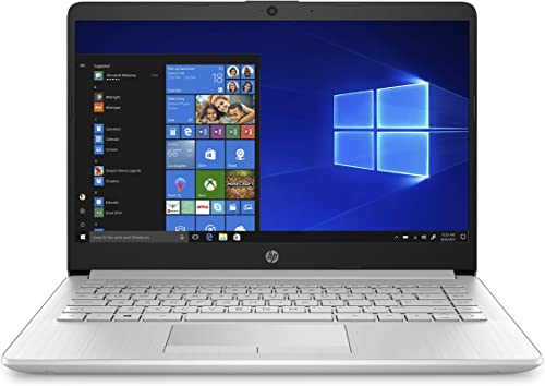 """HP 14s core i5 10th Gen 14"""" (35.56cms) FHD Laptop (8 GB/256 GB SSD/1TB HDD/Windows 10/MS Office 2019/Natural Silver /..."""