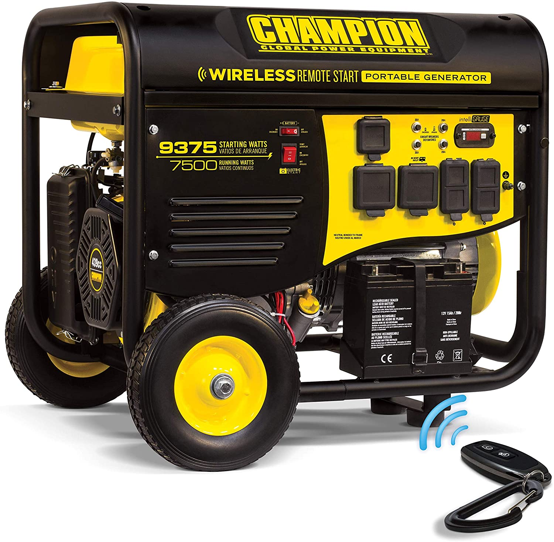 Champion Power Equipment 100161 9375/7500W RV Ready Portable Generator