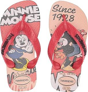 Havaianas Kid's Disney Stylish Flip Flop Sandal, Rose Nude, 9 M US Toddler