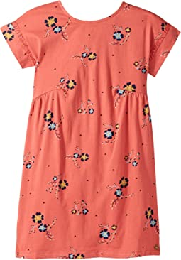 Dripping Rose Dress (Big Kids)