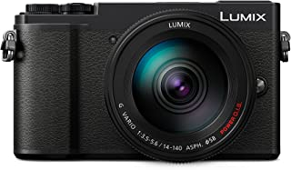 Panasonic LUMIX DC-GX9HEG-K Fotocamera Mirrorless 20 MP, Sensore LIVE MOS MFT, Obiettivo LUMIX 14-140 mm, Nero