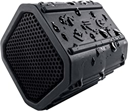 ECOXGEAR Ecopebble Rugged and Waterproof Wireless Bluetooth Speaker - Retail Packaging - Black