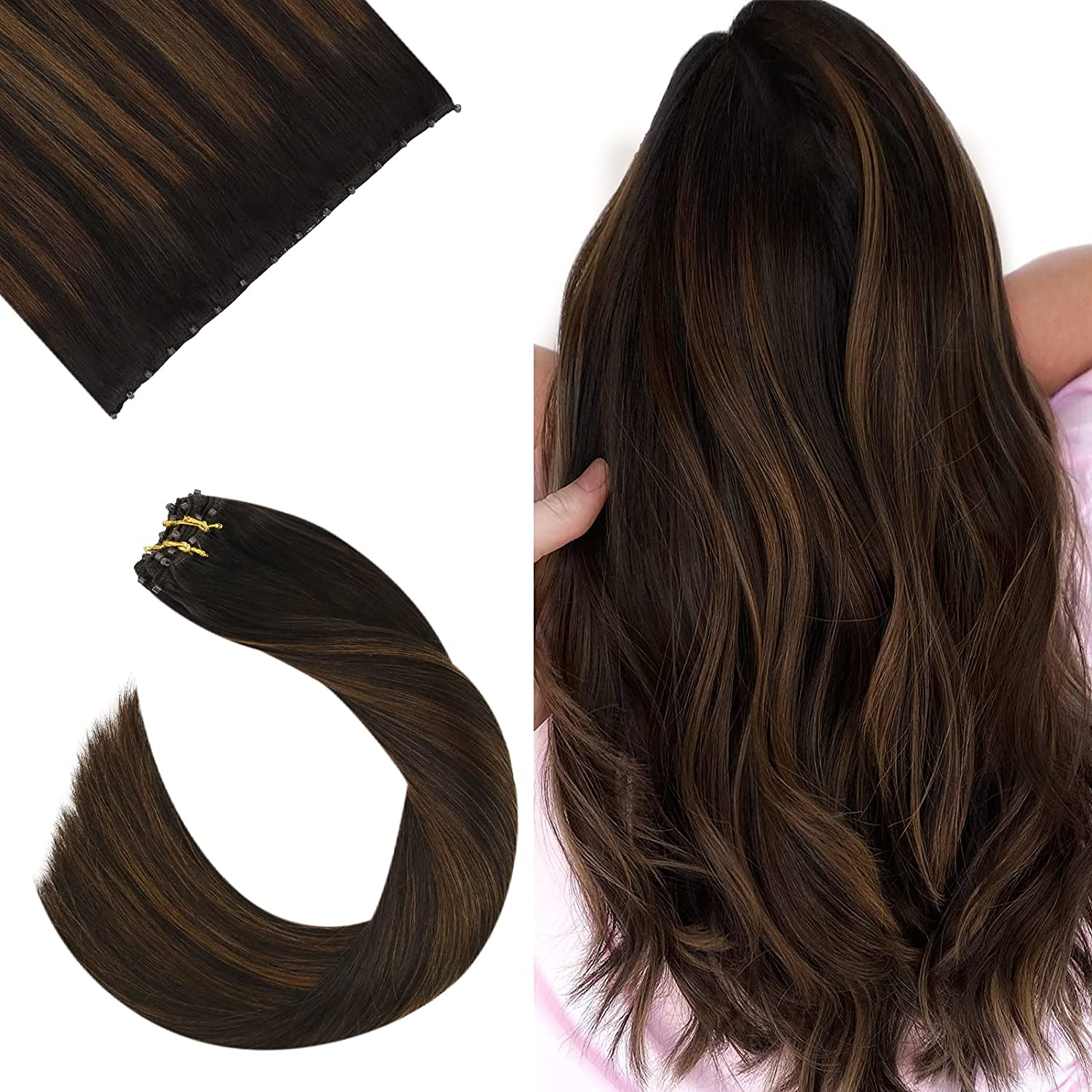 Ugeat 18 Max 80% OFF Discount mail order Inch Beaded Weft Hair Human Micro 50Gr Extension