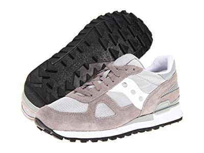 Saucony Originals Shadow Original (Grey/White) Men