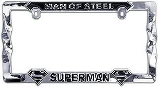 Elektroplate Superman Man of Steel 3D Metal License Plate Frame