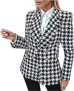$32 » Women Plaid Winter Hooded Coat Trench Jacket Warm Slim Long Overcoat Outwear