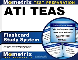 ATI TEAS Flashcard Study System: TEAS 6 Test Practice Questions & Exam Review for the Test of Essential Academic Skills, Sixth Edition (Cards)