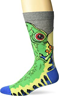 K. Bell Socks Men's Novelty Wild Animals Crew Socks