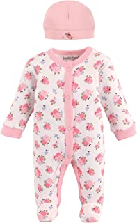 Luvable Friends Baby Preemie Sleep N Play & Cap