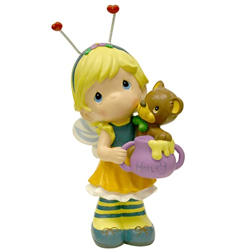 Precious Moments Design International Group Dragonfly Fairy with Frog Statue 12-Inch