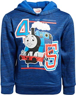 Nickelodeon Boys Fleece Sweatshirt Pullover Hoodie - Thomas The Train - Ninja Turtles - Blaze (Toddler/Little Boys)
