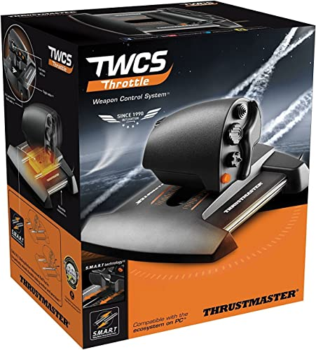discount Thrustmaster TWCS Throttle Controller lowest wholesale (Windows) online