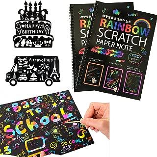 Humars Scratch Art Activity Books for Kids! 20 BIG 10