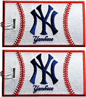 yankees luggage tag