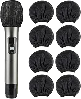 200 Pcs Disposable Microphone Cover Non-Woven Handheld...