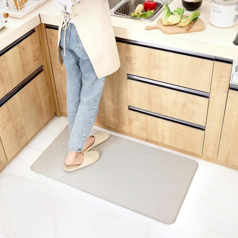 Buy DEXI Anti Fatigue Comfort Mat Cushioned Floor Rug Woven Fabric ...