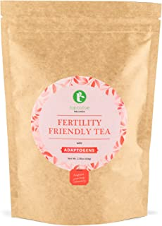 Pace Brands Fertility Friendly Tea | Pre-Conception Tea to Help Balance your Hormones and Regulate Your Cycle Naturally | With Raspberry Leaf, Chasteberry and Goji Berry | Loose Leaf 84 grams
