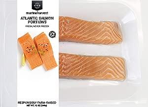Marine Harvest Fresh Atlantic Salmon, Skin-On, Responsibly Farm-Raised, 12 oz