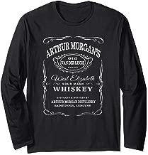 Arthur Morgan's Whiskey Cool Gaming RDR2 Long Sleeve T Shirt