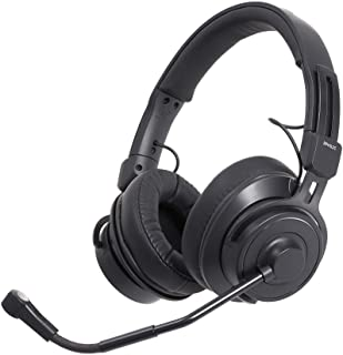 Audio-Technica BPHS2C Broadcast Stereo Headset with Cardioid Condenser Boom Microphone