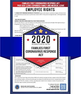 Families First Coronavirus Response Act - Paid Sick Leave and Expanded Family and Medical Leave - 2020 Required Federal Notice Poster - 11