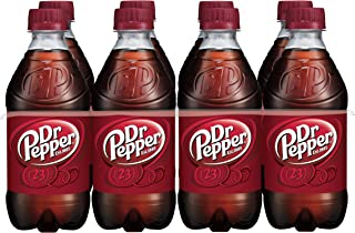 Dr Pepper Soda, 12 Fluid Ounce Bottle, 8 Count