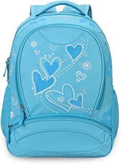 Sweetheart Pattern Backpack Blue
