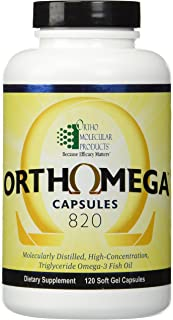 Ortho Molecular Products Orthomega 820 - 120 Soft Gel Capsules
