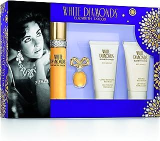Elizabeth Taylor White Diamonds Gift Set for Women (Pack of 4)