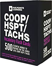 COOP/HSPT/TACHS Vocabulary Flash Cards: 500 Essential Words