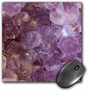 3D Rose Amethyst Crystal Macro PhotographyPurple Gemstone Texture PhotoLilac Gem. February Birthstone Matte Finish Mouse P...
