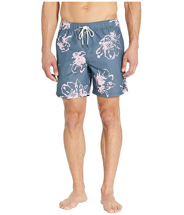 RVCA Program Elastic Shorts (Seattle Blue) Men