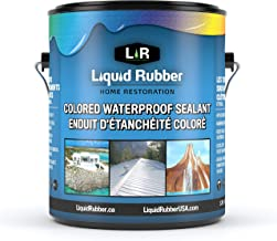 Liquid Rubber Color Waterproof Sealant White 1 Gal