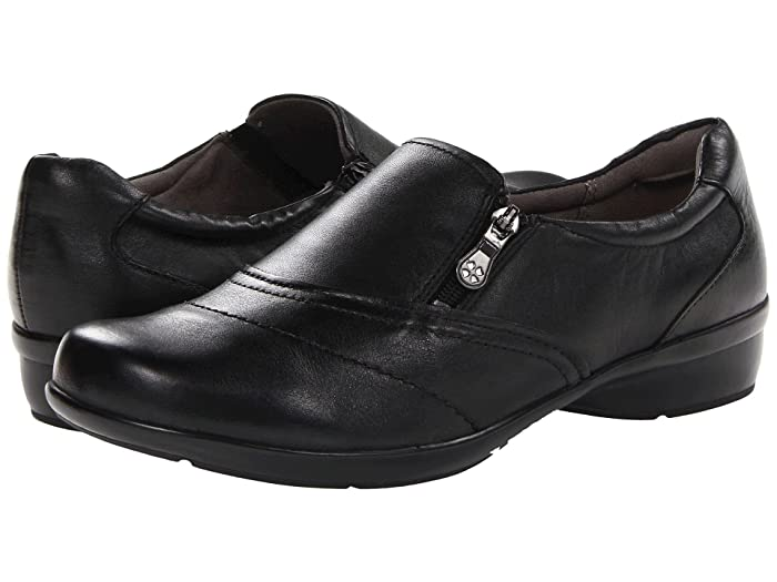 Naturalizer  Clarissa (Black Leather) Womens Flat Shoes