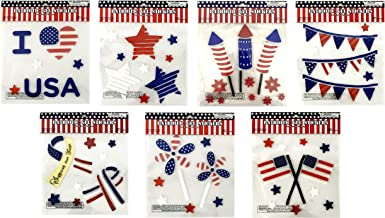Best memorial day window clings Reviews