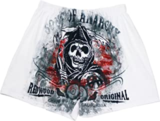 Men's Sons of Anarchy Redwood Original Size Small Samcro Boxers