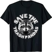 Save The Trash Pandas Raccoon Shirt - Raccoon Animal T-shirt