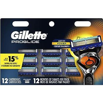 Gillette ProGlide Men's Razor Blade Refills, 12 Refills