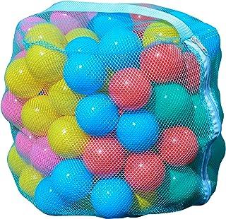 Gioco per Bambini 100 Palline Colorate Divertenti in plastica per Bambini yinuneronsty