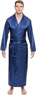 Noble Mount Twin Boat Men's Satin Robe