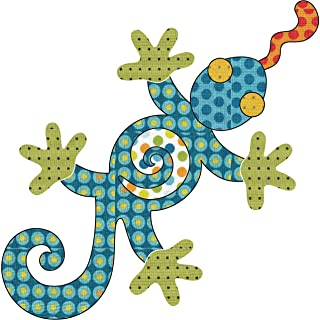 Quilting Creations Laser Cut Fusible Leaping Lizards Applique