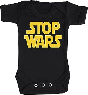 Baby Buddha Stop Wars Baby Bodysuit 100% Baumwolle