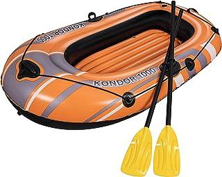 comprar comparacion Bestway 61078 - Barca Hinchable Hydro-Force Kondor 1000 Set 1 Persona Con Remos