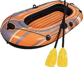 Bestway 61078 - Barca Hinchable Hydro-Force Kondor 1000 Set 1 Persona Con Remos