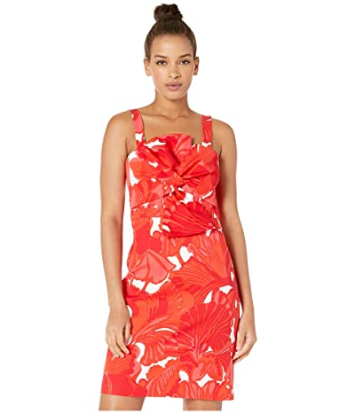 Trina Turk Lanai Dress (Flame) Women